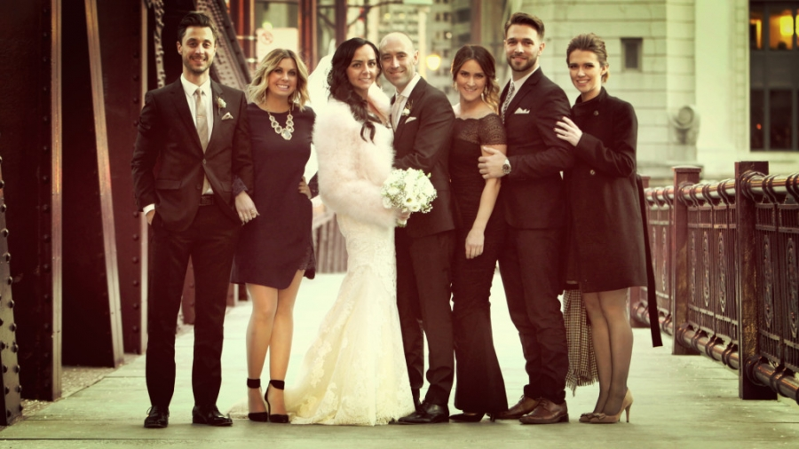 Kamila Josephs Wedding Was Right At Home In Chicago They Invited A Group Of Family And Friends To Come Join Them Celebrate Their This